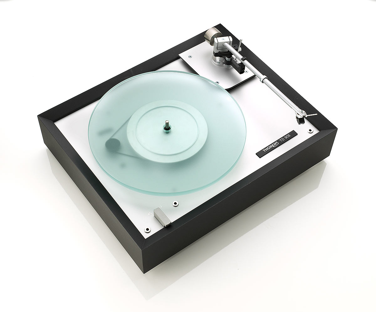 platine thorens 905 finition noir